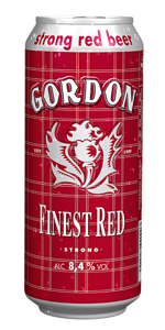 Canette de Gordon Finest Red