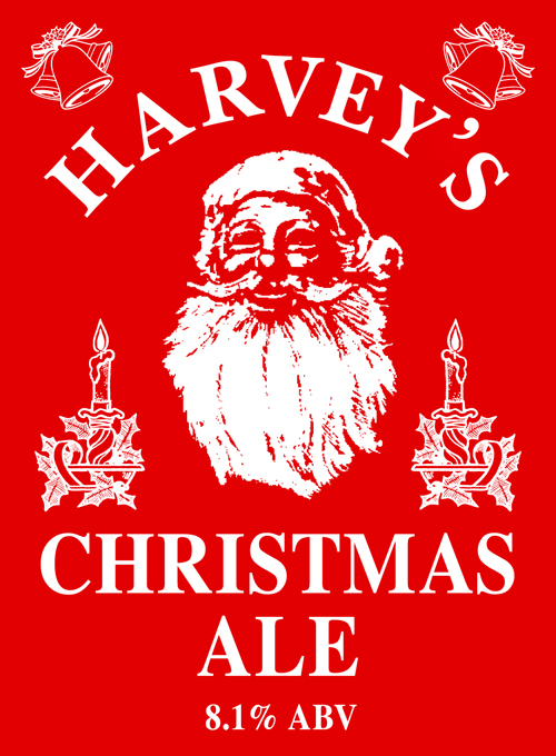 Etiquette de Harvey's Christmas Ale
