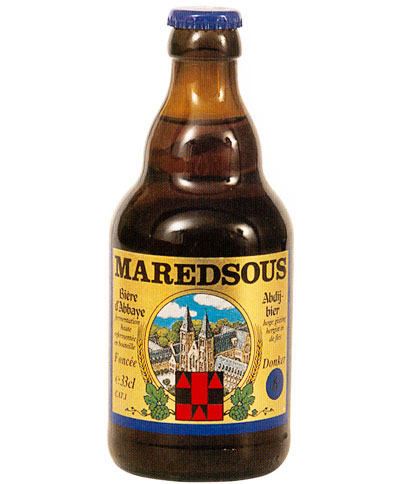 Ancienne bouteille Maredsous blonde 33