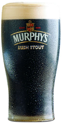 Verre de Murphy's Irish Stout