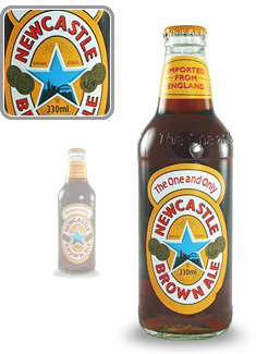 Bouteille de Newcastle Brown Ale