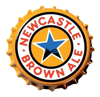 Capsule de Newcastle Brown Ale